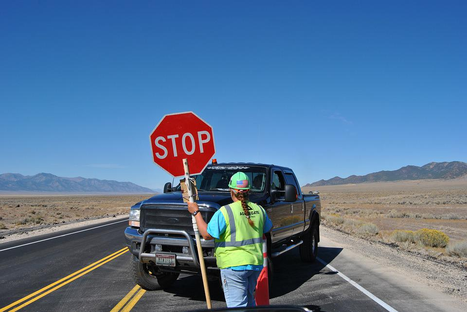 Stop, Shield, Desert, Auto, Road Sign, Stop Sign, Road