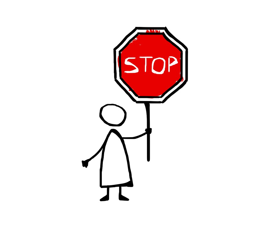 Free photo Road Sign Stop Drawing Comics Icon - Max Pixel