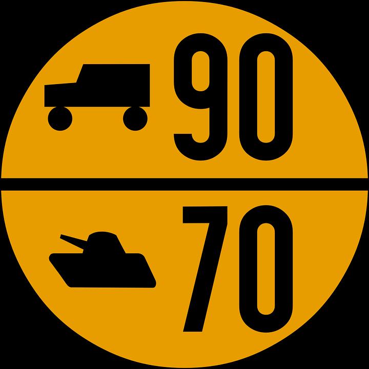 Military, Road Sign, Traffic, Symbol, Sign