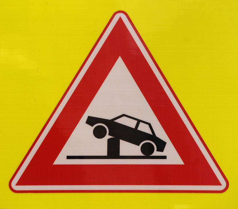 Attention, Traffic Sign, Road Sign, Netherlands