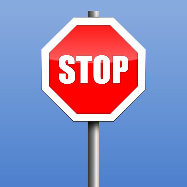 Stop, Road Sign, Warning, Symbol, Stop-sign, Halt