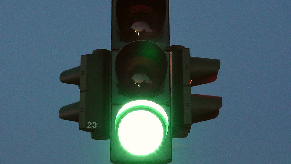 Traffic Lights, Green, Road, Signal Lamp, Traffic