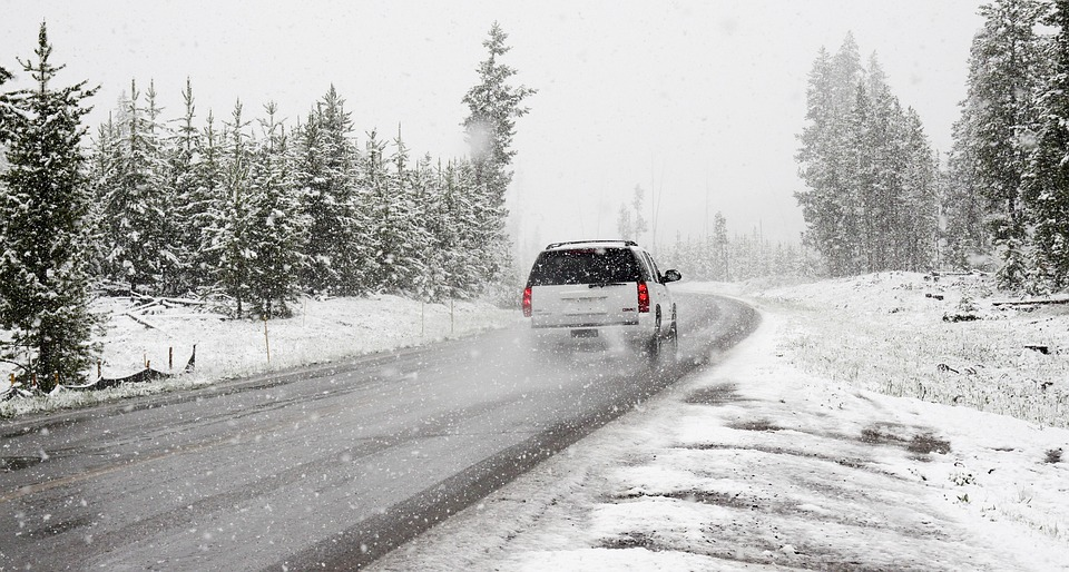 Snow, Road, Winter, Car, Roadtrip, Road Trip, Snowstorm