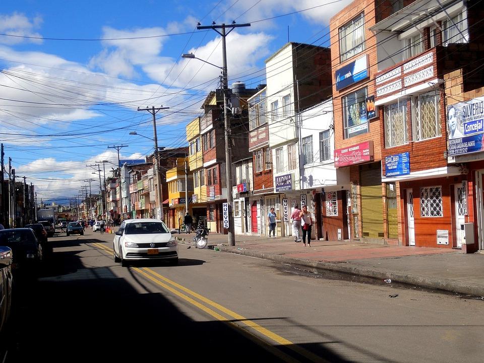 Bogota, Colombia, Capital, South America, Road, Autos
