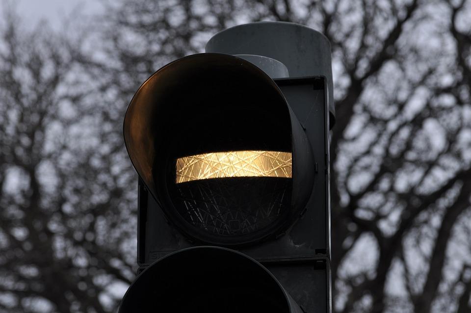 Traffic Light, Bus, Signal, Traffic, Street, Road, Sign