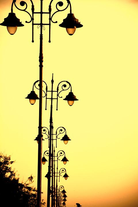 Light, Road, Travel, Highway, Night, Pathway, Street