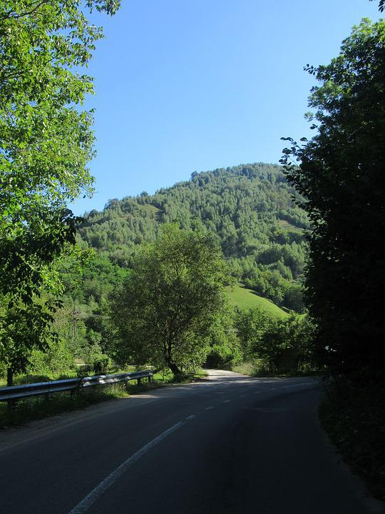 Road, The Apuseni Mountains, Transylvania, Crisana