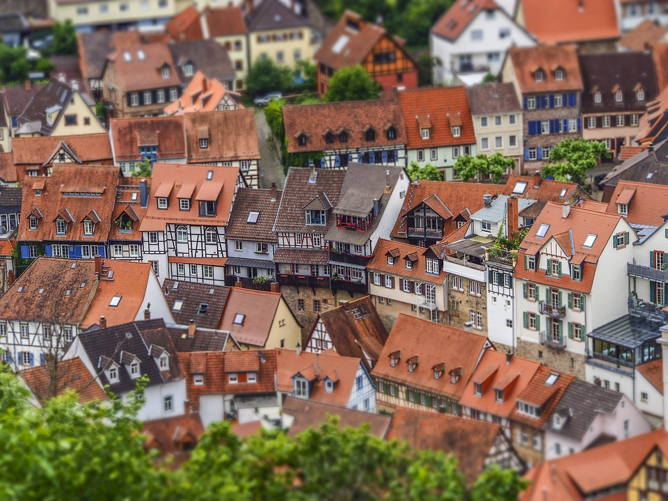Architecture, City, Building, Houses, Road, Travel