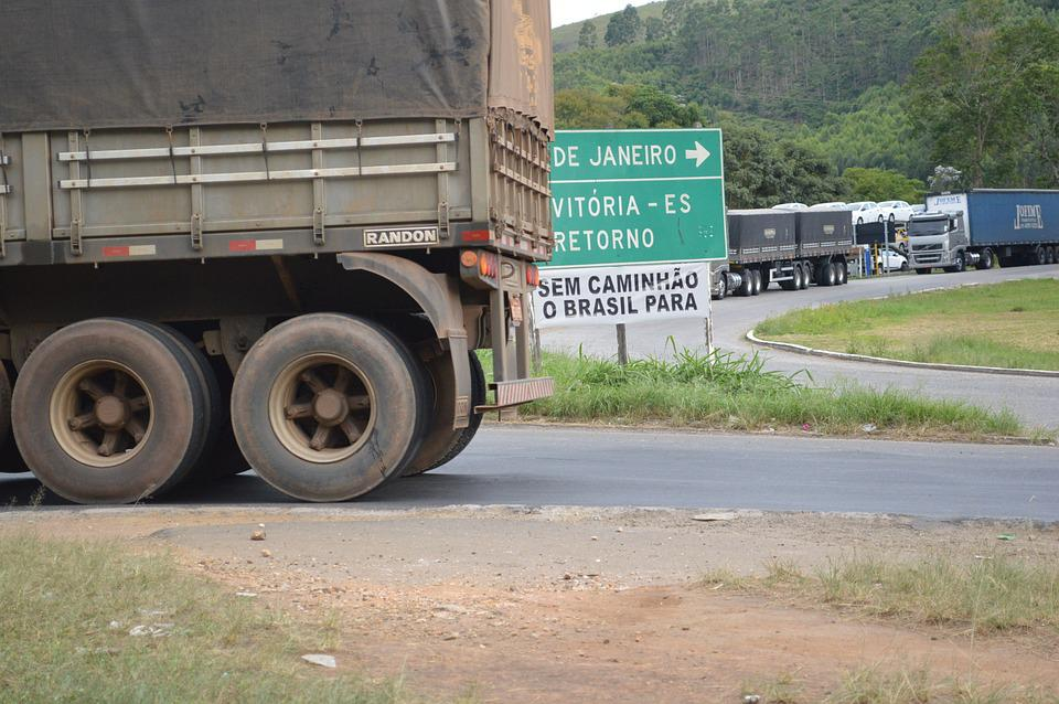 Truck, Road, Highway, Brazil, Cargo, Trucking, Motorway