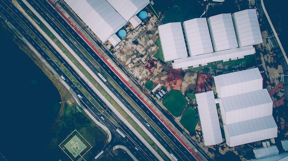 Buildings, City, Roads