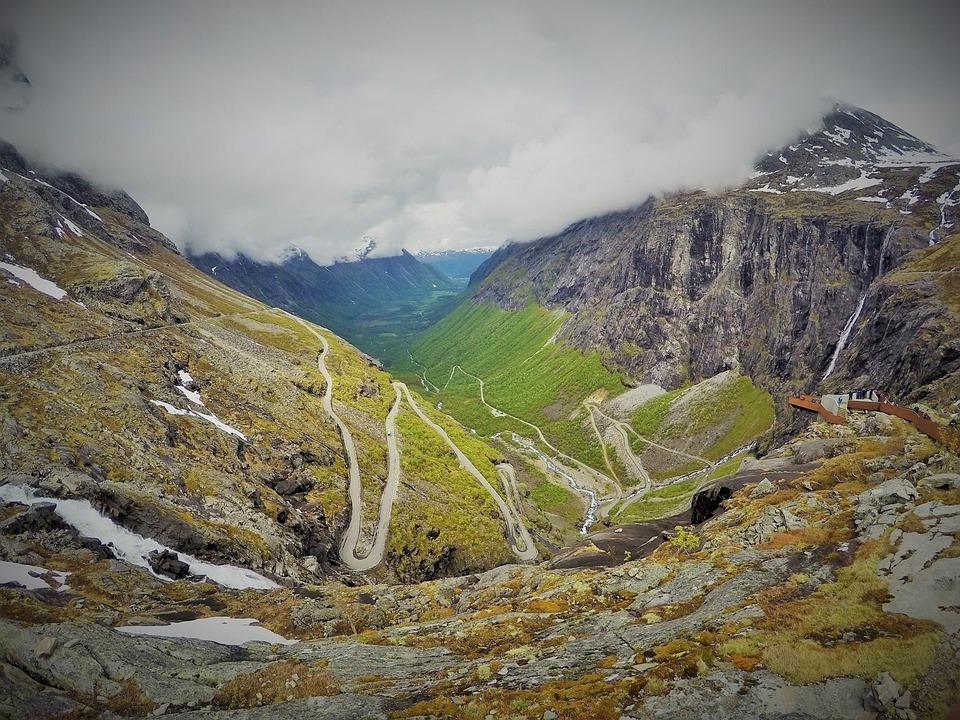 Beautiful, Nature, Norway, Roads, Windy Roads