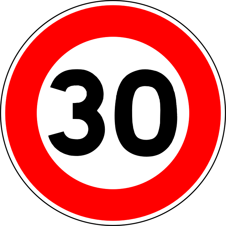 Sign, Road Sign, Roadsign, Traffic Sign, Speed Limit
