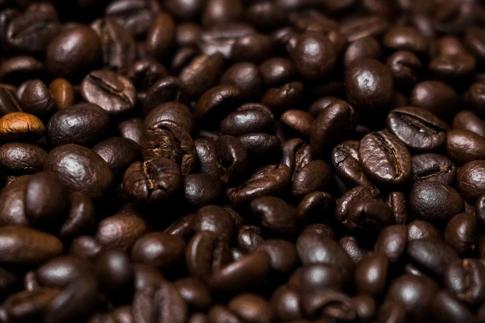 Roasted Coffee Beans, Coffee, Coffee Beans, Caffeine