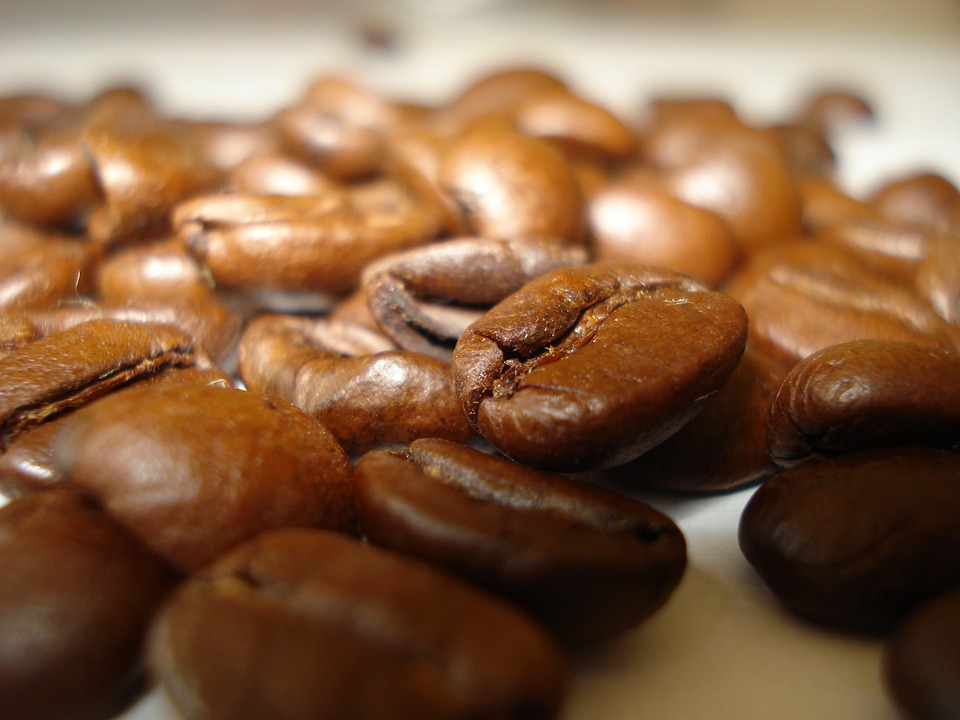 Coffee, Grain, Roasted Coffee, Foodstuffs, Drink, Cafe