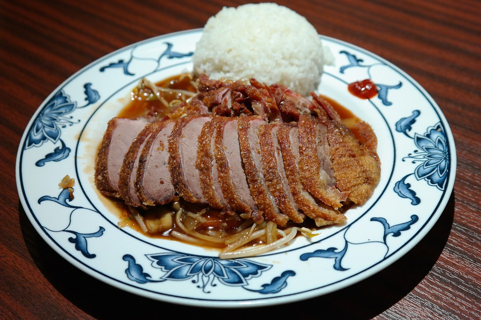 Eat, Lunch, Chinese, Roasted Duck, Duck, Crispy Duck