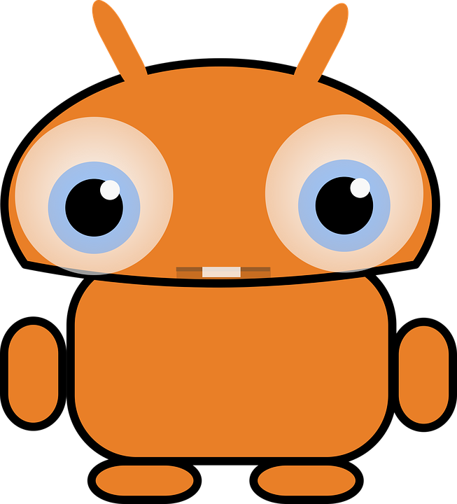 Android, Cute, Robot, Stickers