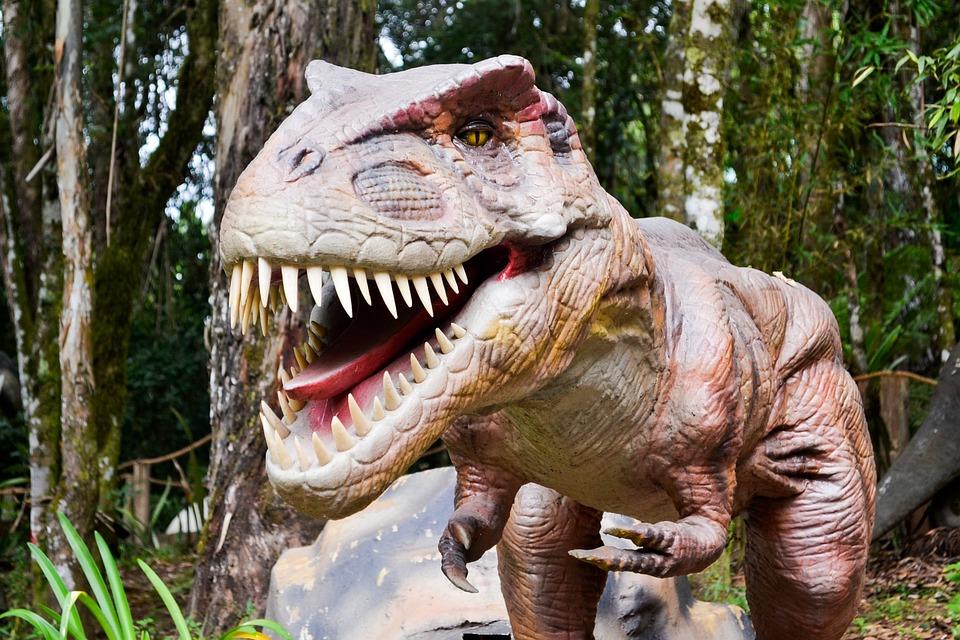 Dinosaur, Robot, Jurassic