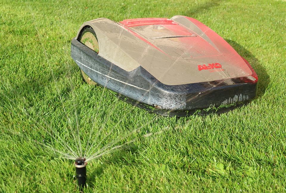 Robot Mower, Lawn Mowing, Robot, Lawn Robot