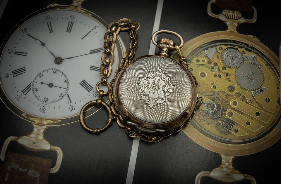 Pocket Watch, Hand Engraving, Rocaille, Guilloché