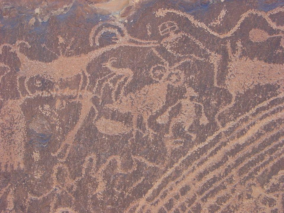 Petroglyphs, Rock Art, Utah, Ancient, Petroglyph, Rock