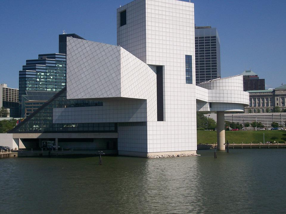 Rock And Roll Hall Of Frame, Lake, Cleveland