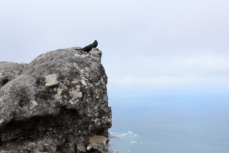Nature, Sky, Outdoors, Rock, Travel, High, Stone, Birds