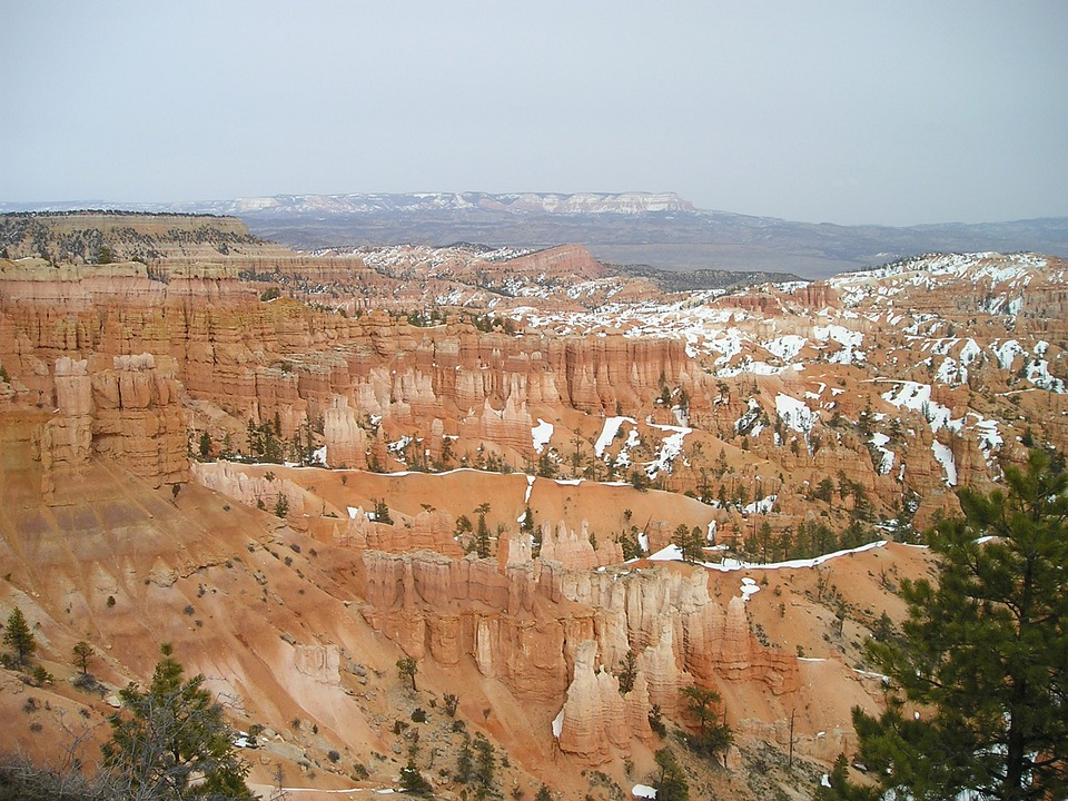 Bryce Canyon, Canyon, Gorge, Rock, Mation, Cliff