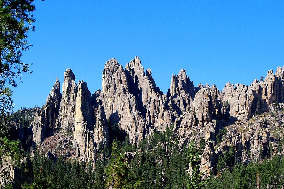 Cathedral Rock, Rock, Formation, Geology, South Dakota