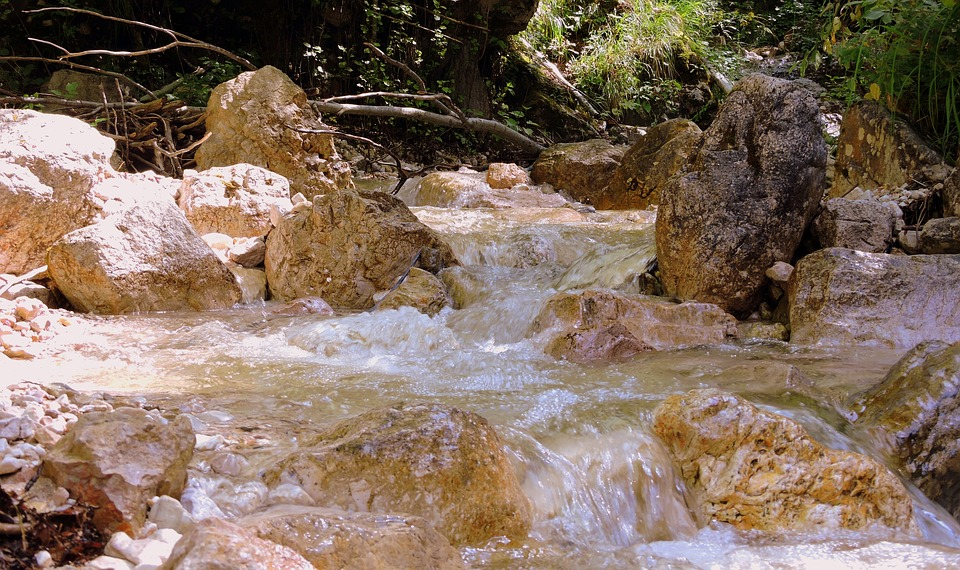 Waterfall, Water, Source, Torrent, Rock, Stone, Clear