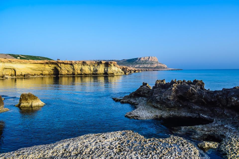 Cyprus, Cavo Greko, National Park, Cliff, Rock