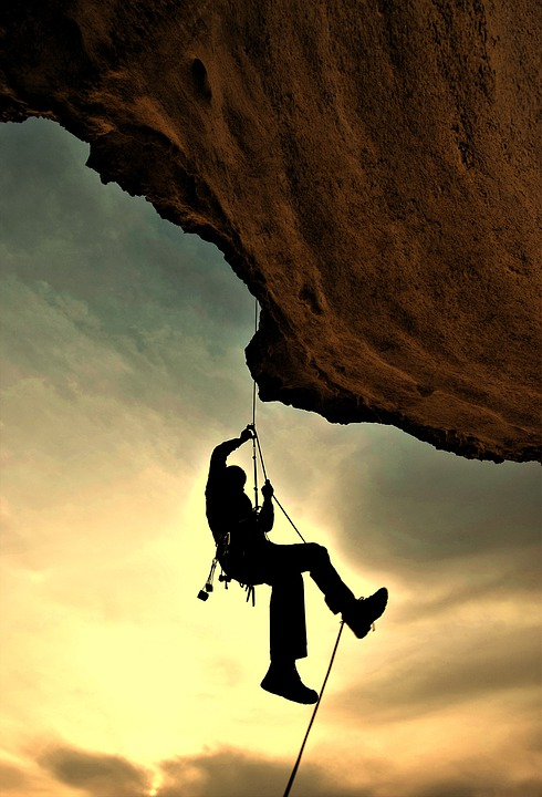 Climber, Mountaineer, Mountaineering, Rock Climbing