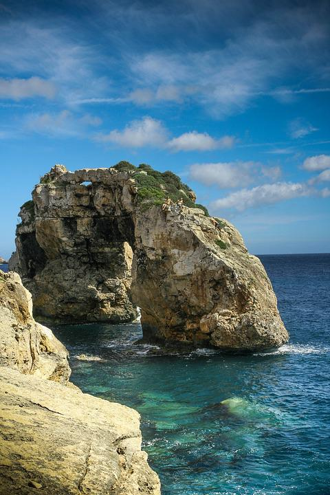 Mallorca, Sea, Rock, Cliff, Coast