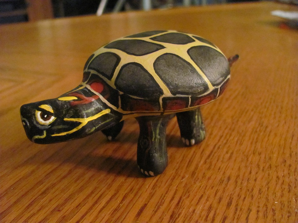 Turtles, Rock, Painted, Craft, Creature, Animal
