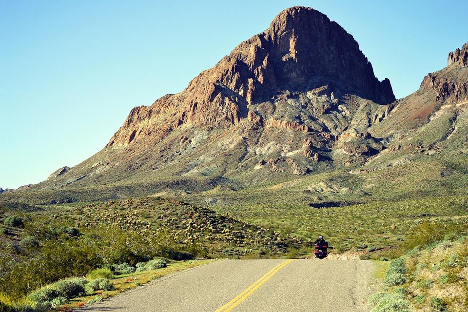 Desert, Rock, Hill, Mountain, Arizona, Oatman