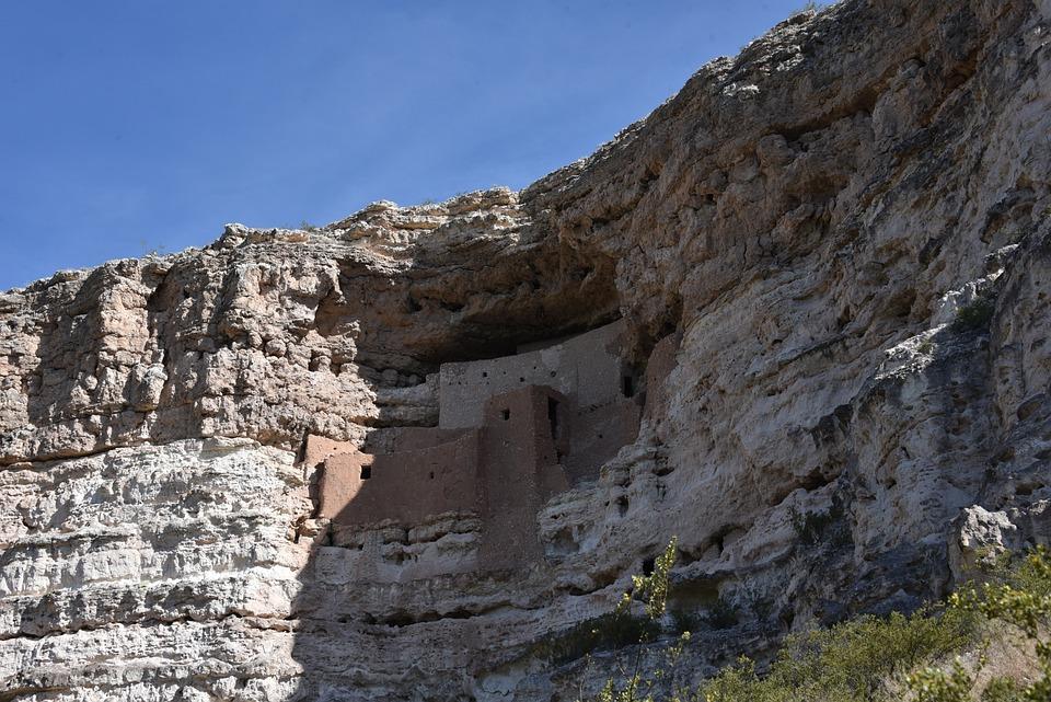Montezuma's Castle, Rock Dwelling, Arizona, Monument
