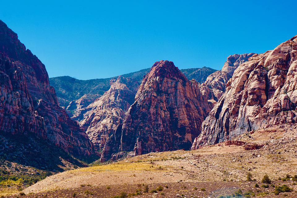 Landscape, Cliff, Mountains, Valley, Rock Formation