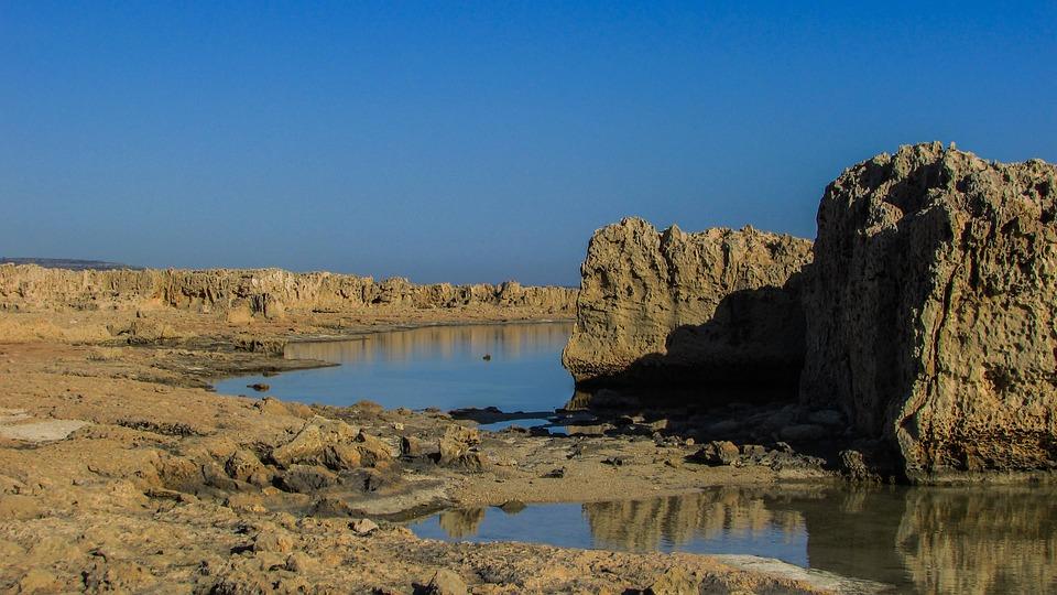 Cyprus, Ayia Napa, Makronissos, Rock Formations