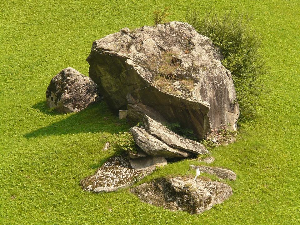 Stone, Foundling, Meadow, Rock, Rocky Hill