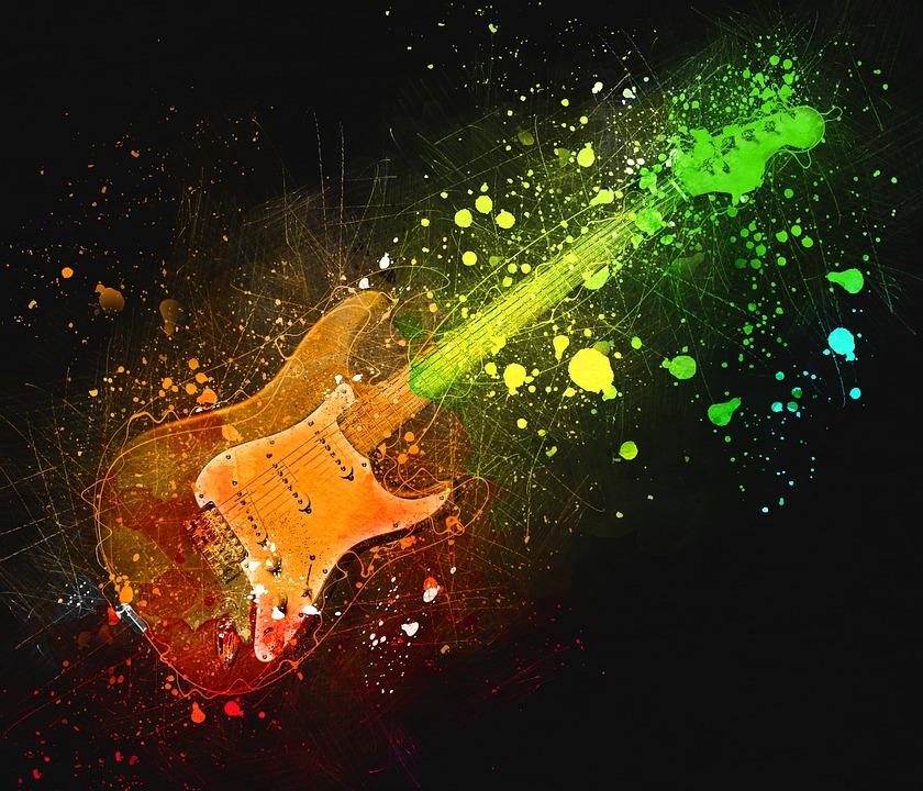 Electric Guitar, Rock, Guitar, Stringed Instrument
