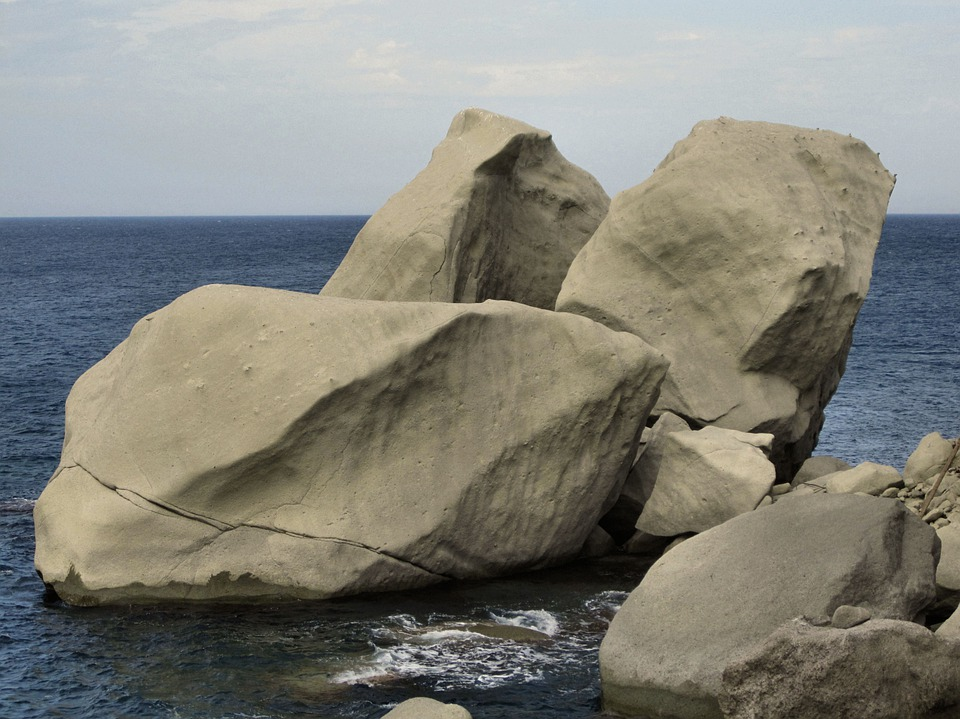Mediterranean, Ischia, Rock