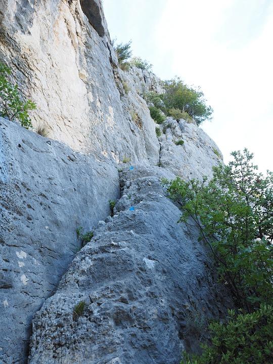 Path, Sidewalk, Steep, Exposed, Karst Area, Karst, Rock