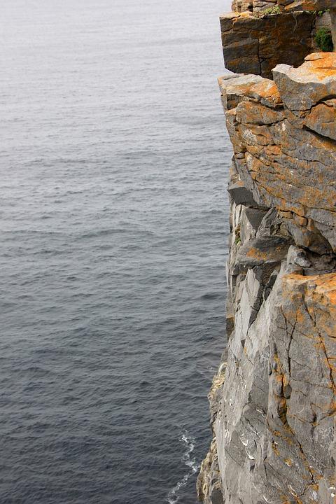 Cliffs Of Moher, Ireland, Irish, Ocean, Landscape, Rock