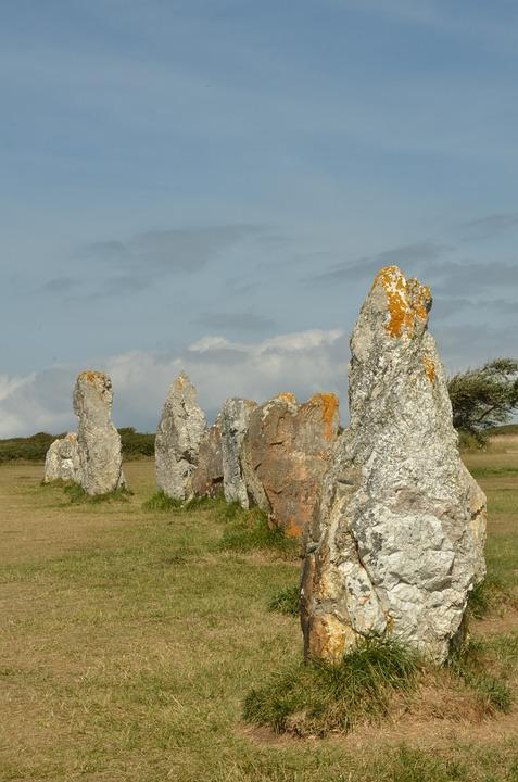 Stone, Rock, Menhir, Upright, Sun, Sundial, Megalith
