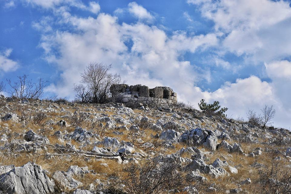 Stone, Sky, Hill, Nature, Rock, Castle, Outdoor