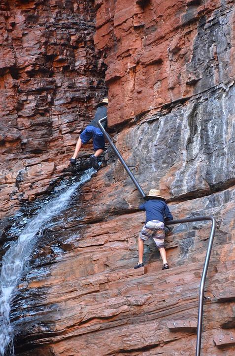 Rock Climbing, Precarious, Rock, Adventure, Outdoors