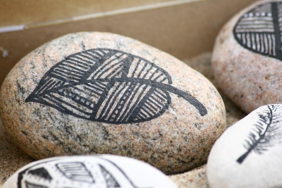 Rock Paint, Stone, Decoration