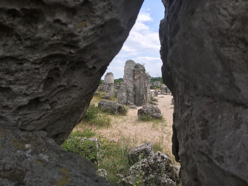 Stone Garden, Stones, Rock, Park