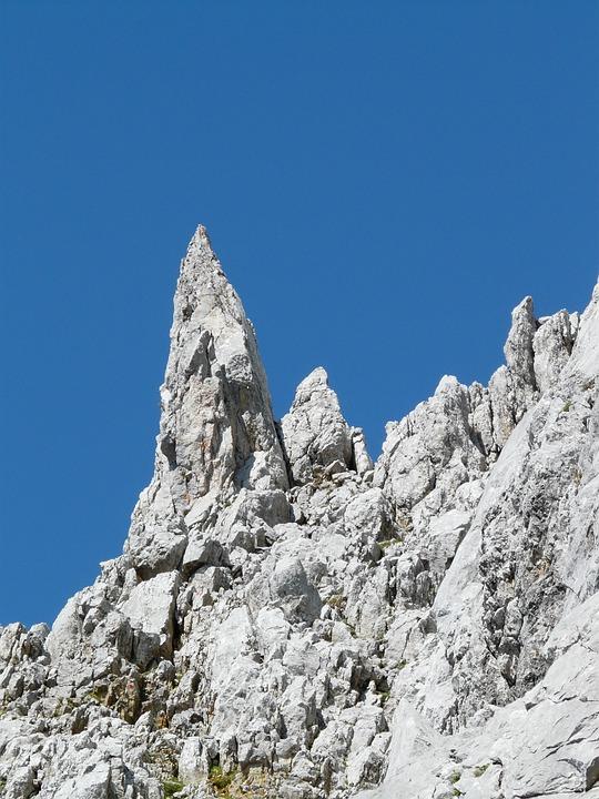 Pinnacle, Rock Points, Rock, Limestone, Pointed, Steep