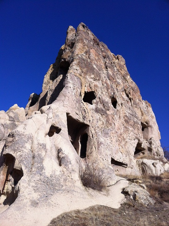 Turkey, Cappadocia, Rock, Cave, Rock House, Geology