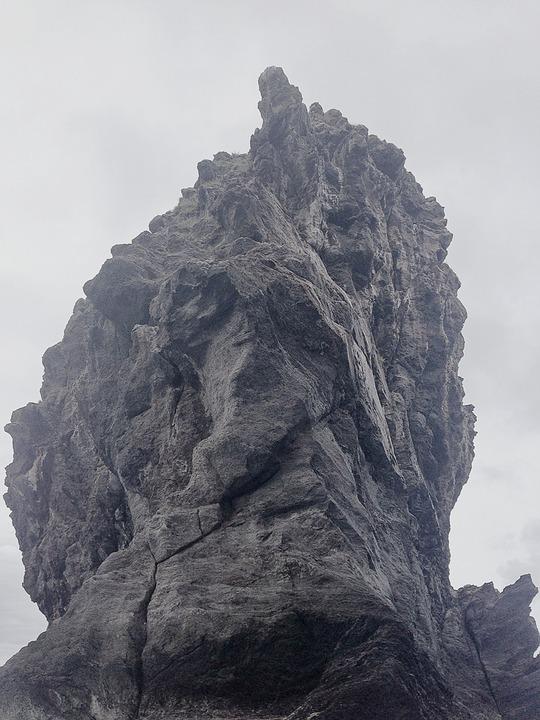 Easter Island, Rock, Sea